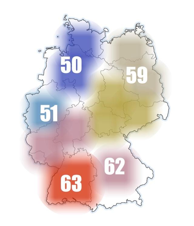 131102 Stresspegel Deutschland Karte