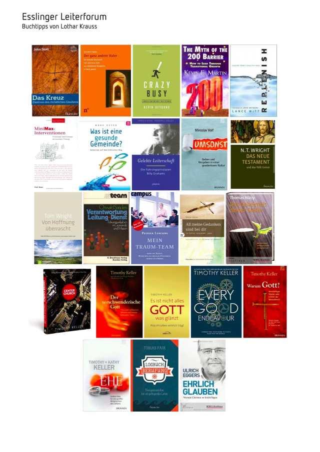 131204 50 Bücher, die mich in den letzten drei Jahren inspiriert haben - Übersicht 2